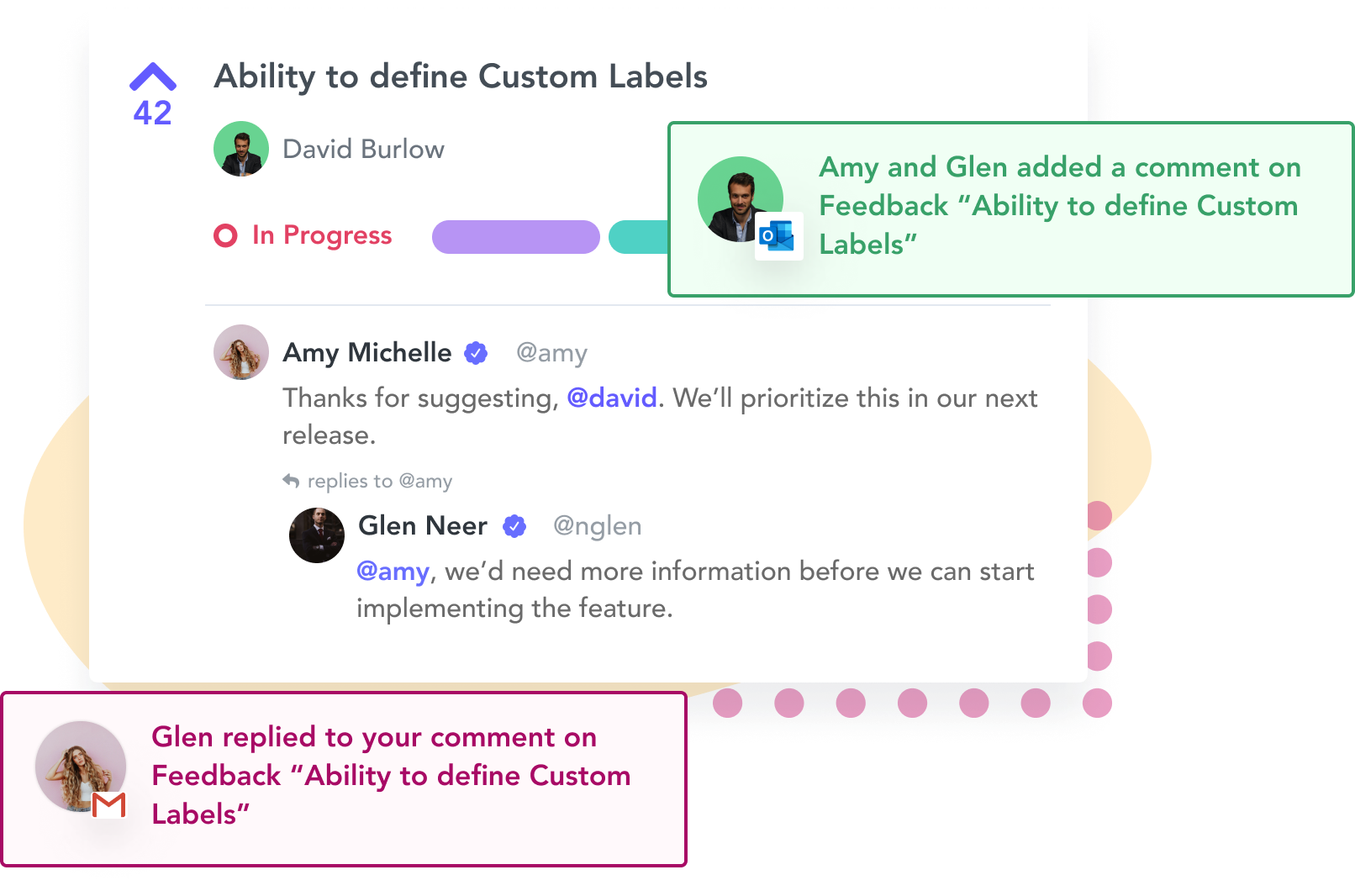 Capture feedback with Rapidr