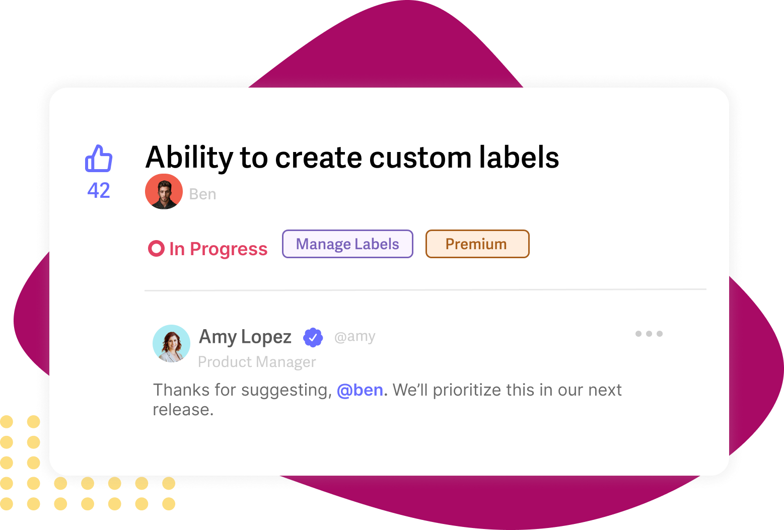 Prioritize feedback with Rapidr