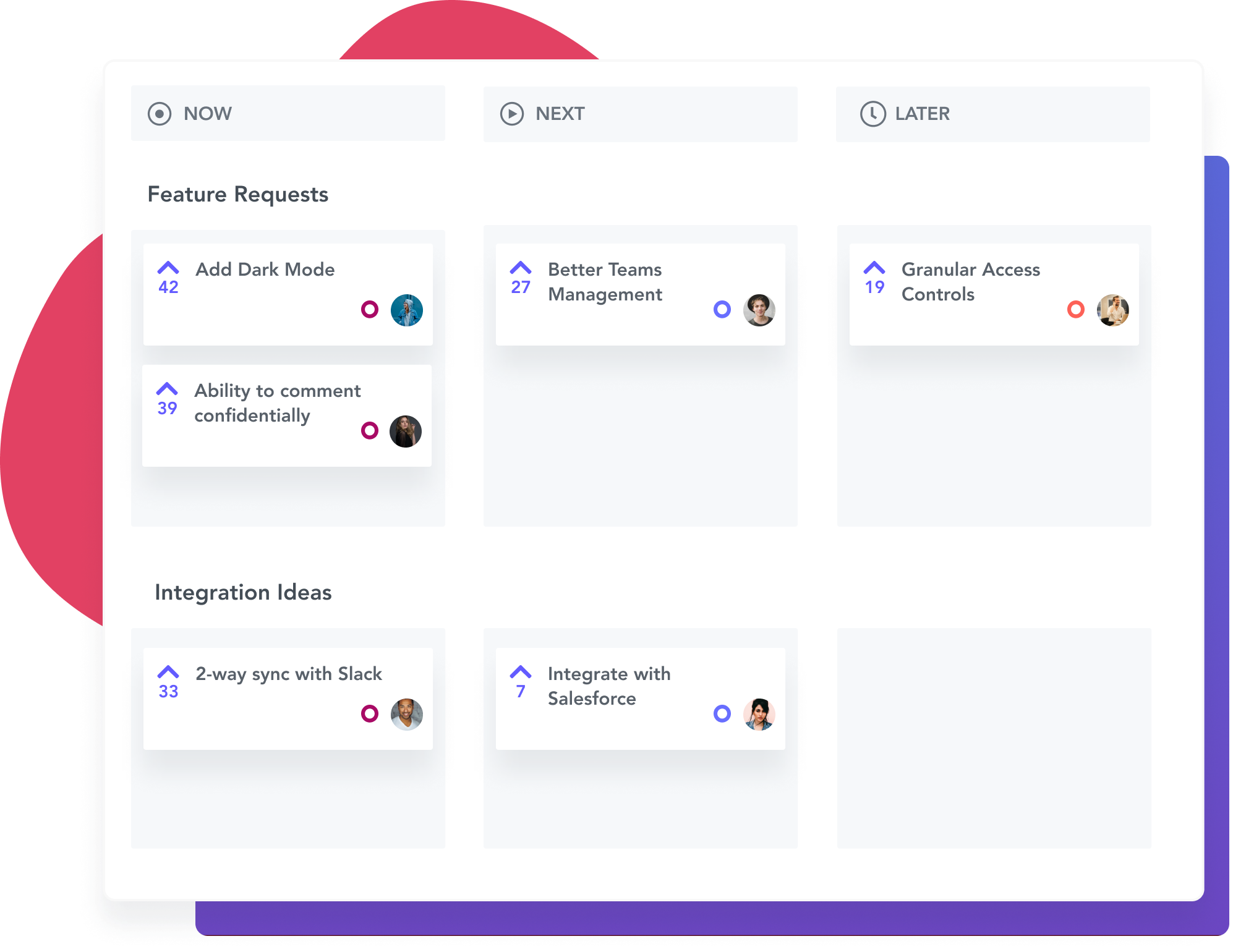 Plan your public roadmap with Rapidr